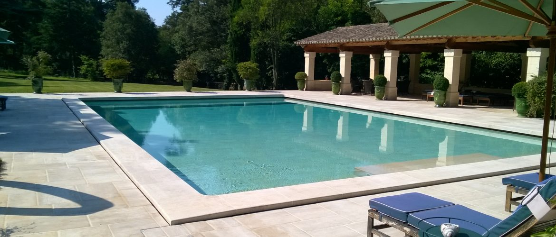 grande piscine villa