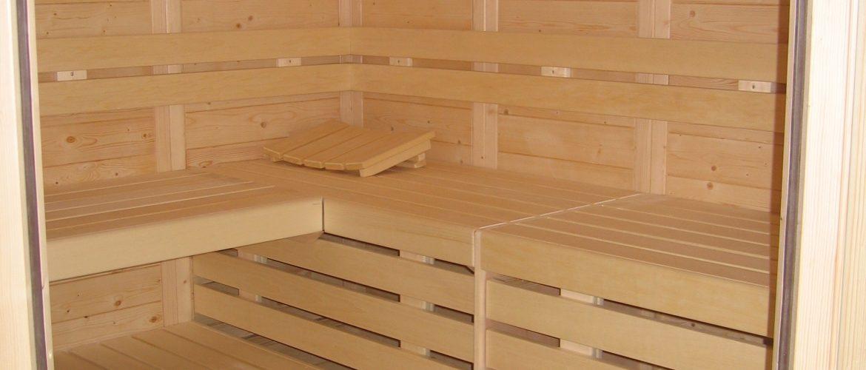 Sauna traditionnel bois
